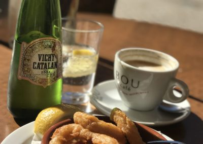 Calamari and Vichy Catalan